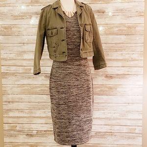 Philosophy double strap sleeveless midi dress Med